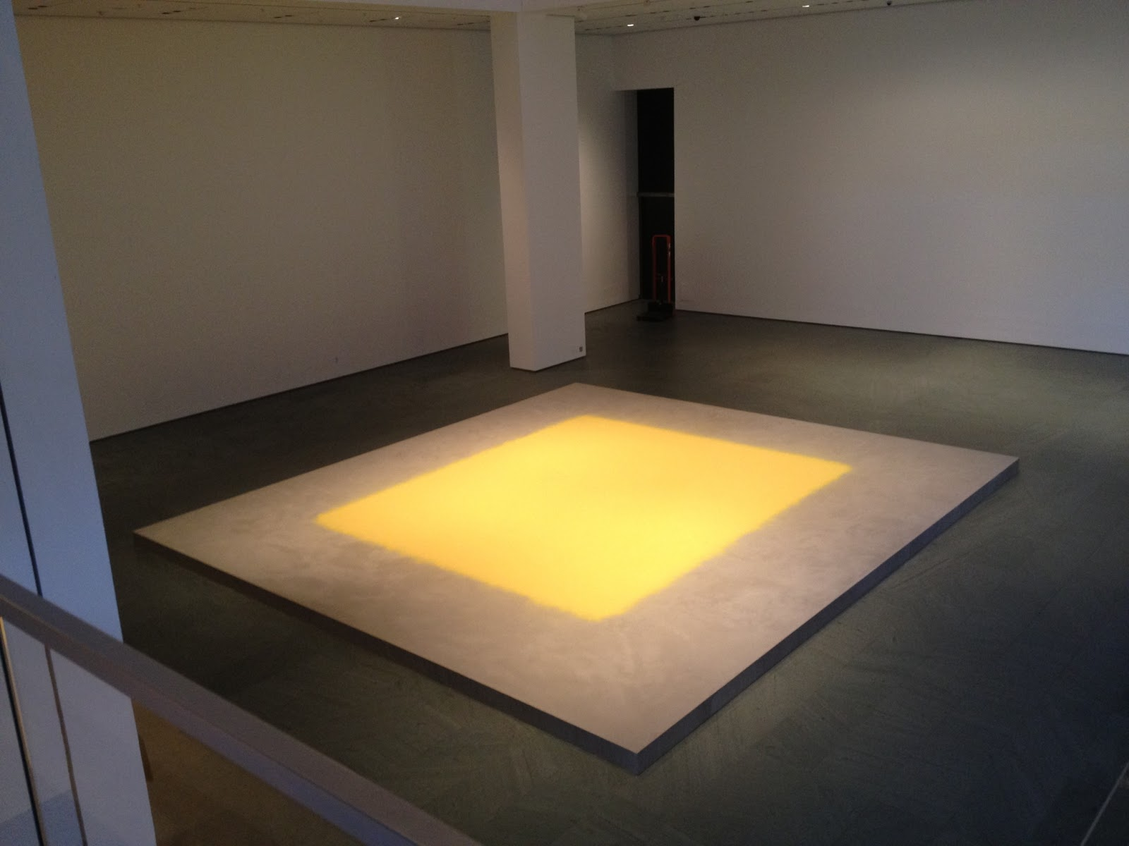 Wolfgang Laib, Pollen from Hazelnut, 2013, MoMA
