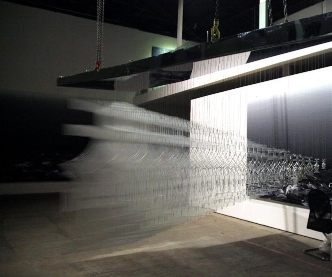Cheng Yong,  天堂 , installation view from  Obstacle , Today Art Museum, Beijing.