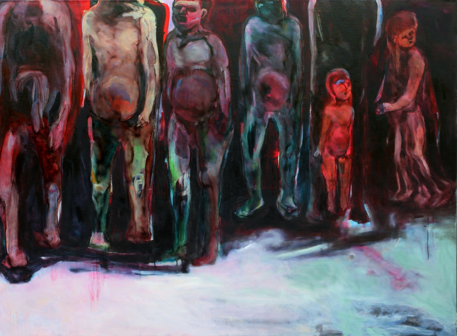 Chang-Ling, from  The Illusion Society    Series ,2011,  oil on canvas,  145 x 194 cm., Taiwan Contemporary Art Archives.