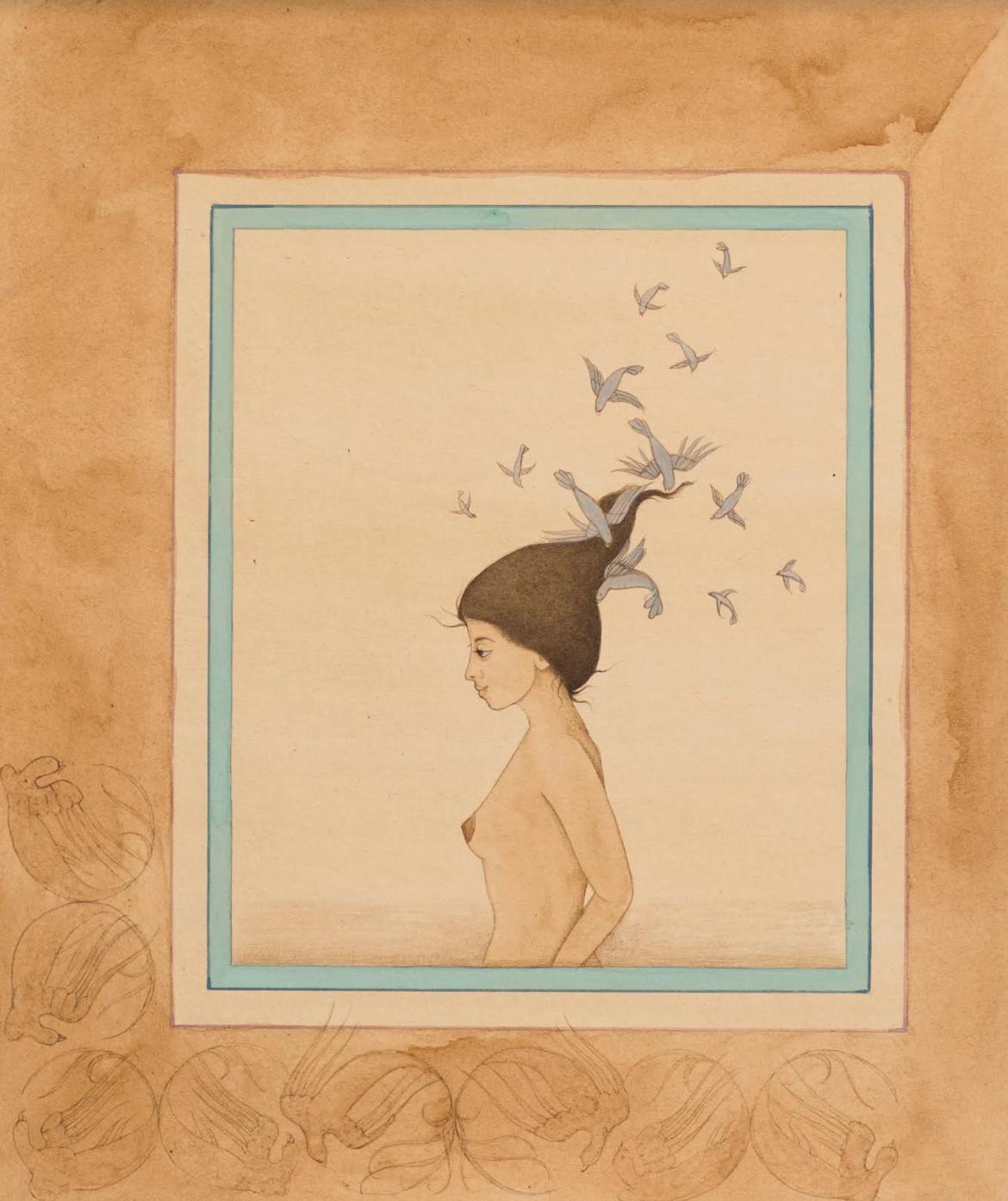 Hiba Schahbaz,  Works in Tea  (2013)