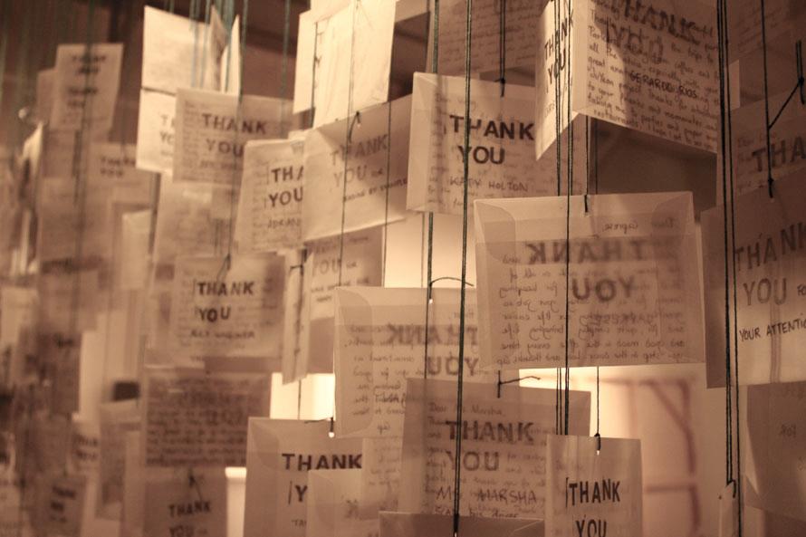 Capucine Gros,  360 Thank Yous  (2012 - )