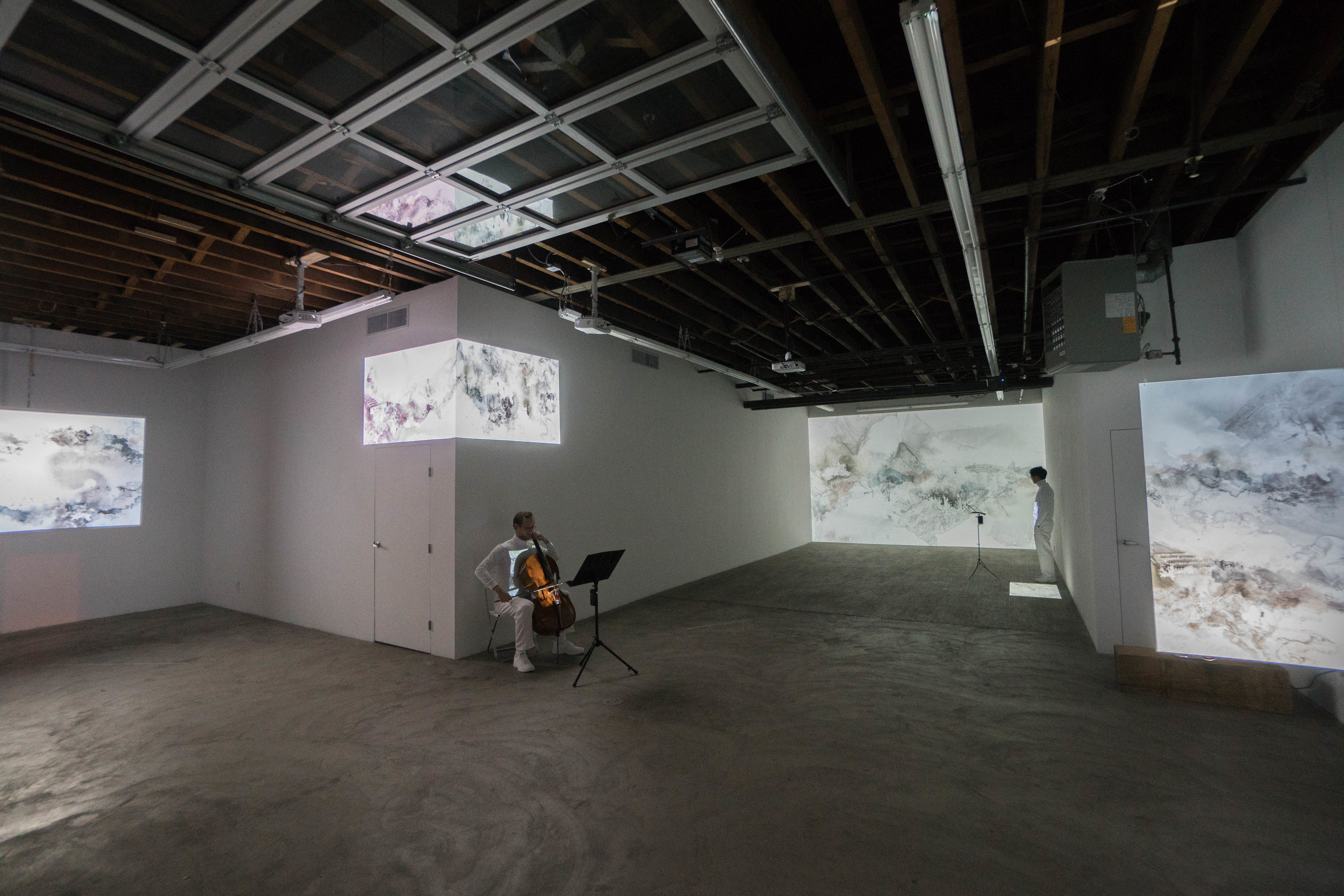 May We Share Our Minds?  exhibition view, 2017.