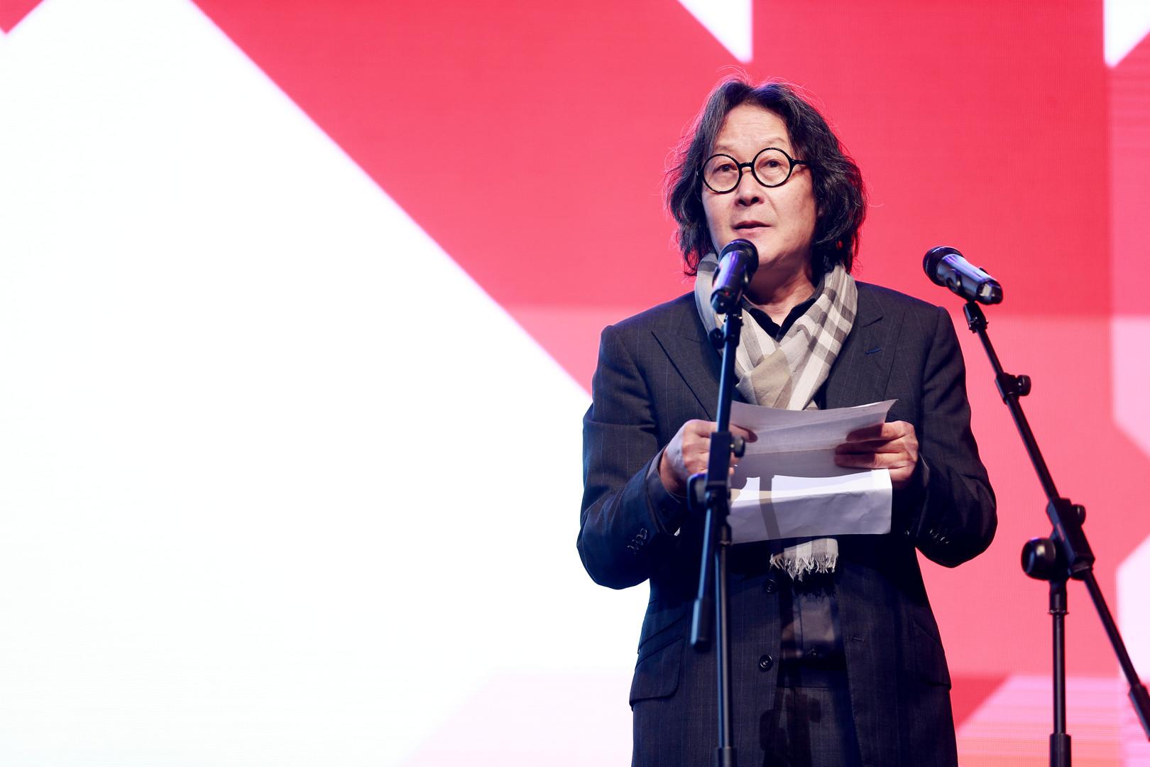 Artist Xu Bing at 2017 Hua International Short Film Festival