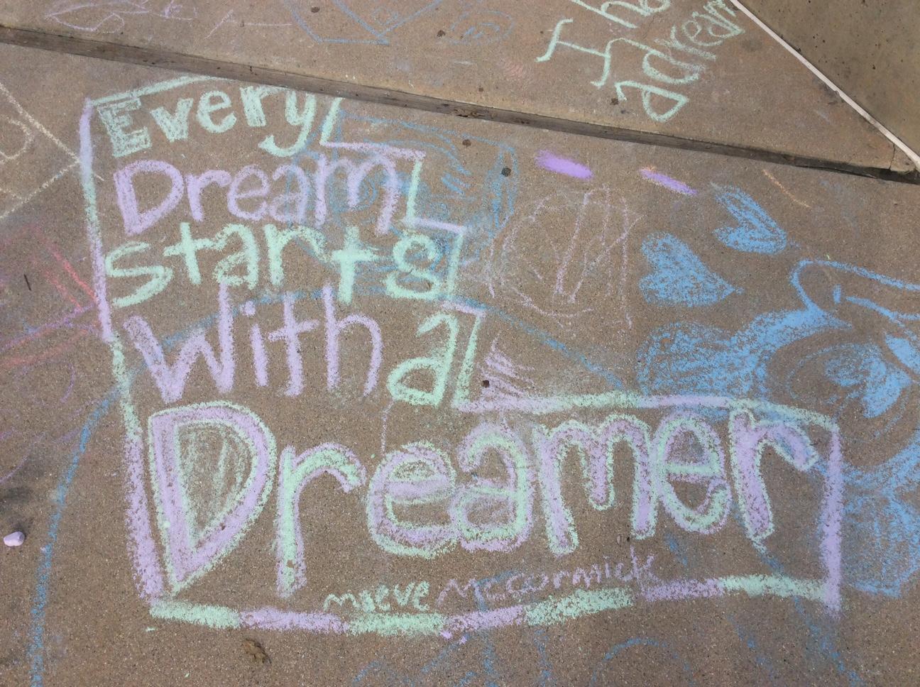 Every dream...