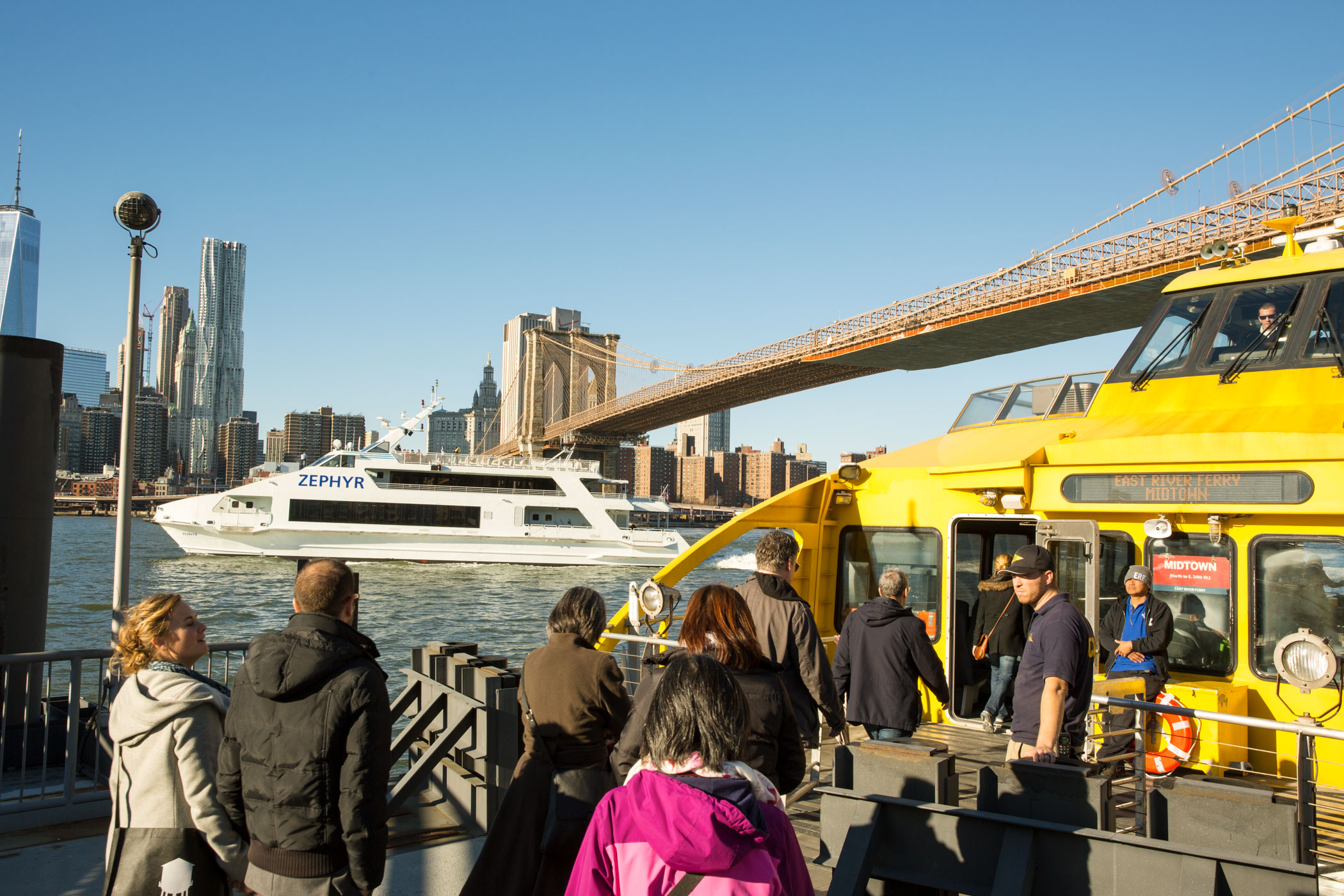 River Ferries in Dumbo