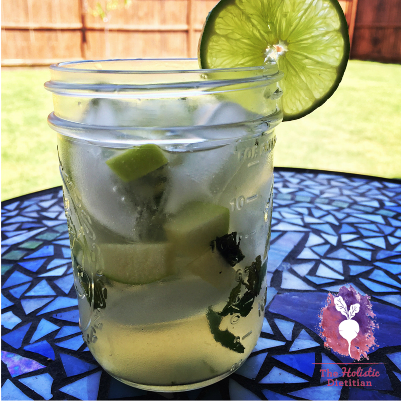 Carmen's Mojito, RESTART® Compliant -- The Holistic Dietitian