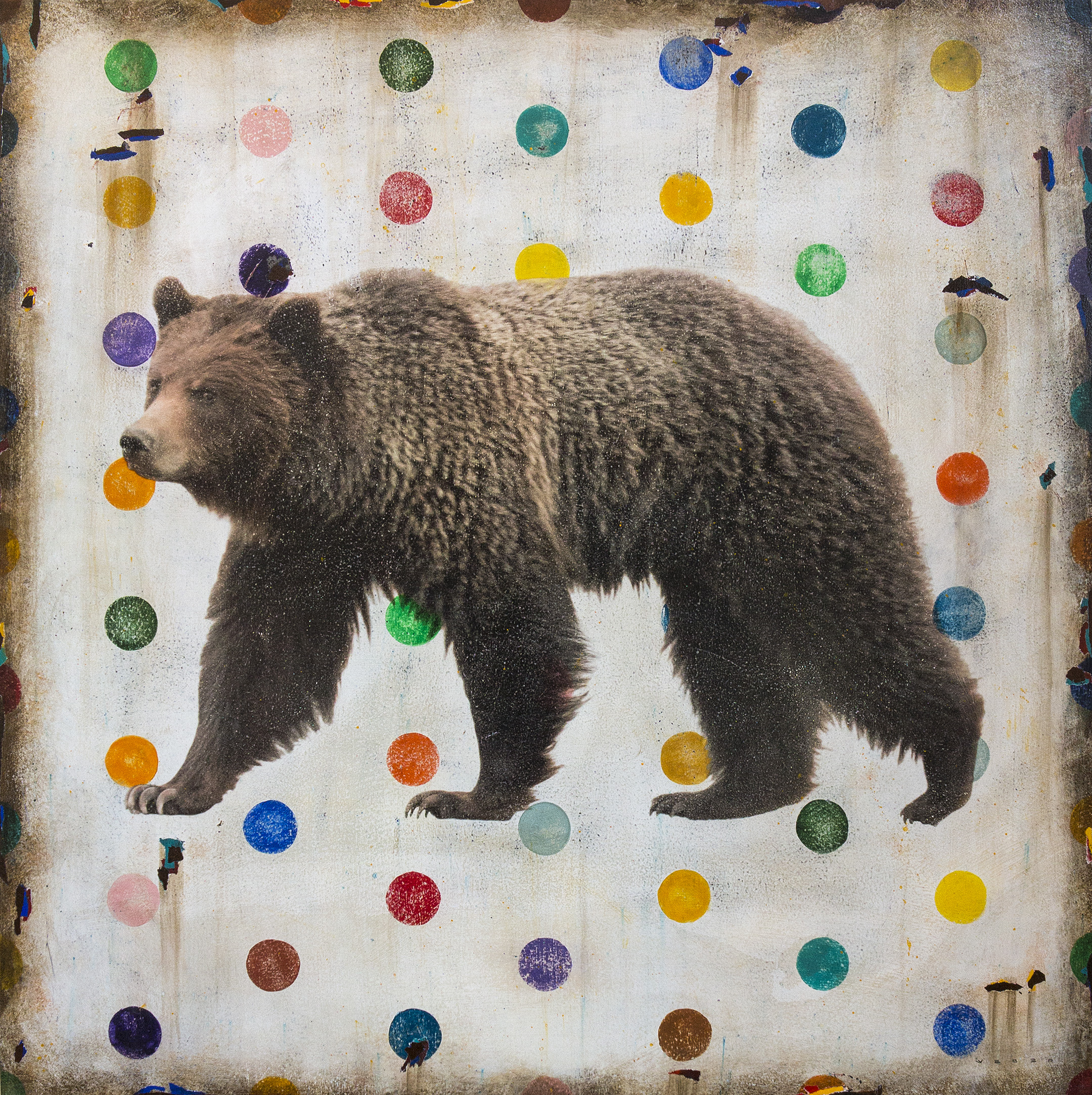 GRIZZLY WELLS, 30 X 30, SOLD