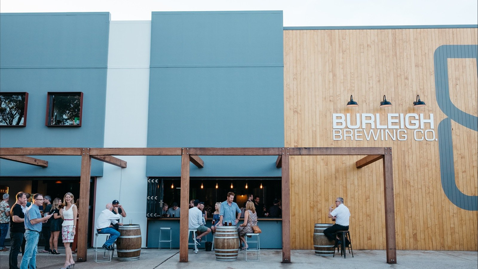 Burleigh Brewing Co. - A great example of a modern Southern Gold Coast enterprise, bringing jobs and money into the area while enhancing the area's brand and reputation. (Image courtesy of the Gold Coast Tourism Corporation.)
