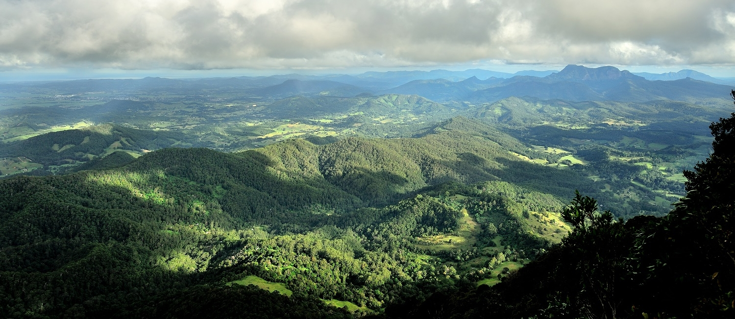 The beautiful hinterland of the Southern Gold Coast