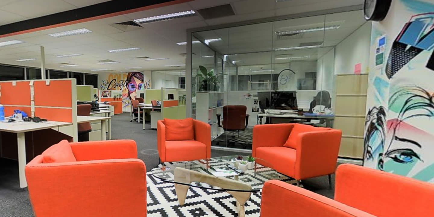 The Gold Coast has always been a home of entrepreneurs, and is benefiting from technological changes which have made small business more competitive.  Photo courtesy of WOTSO Workspace.