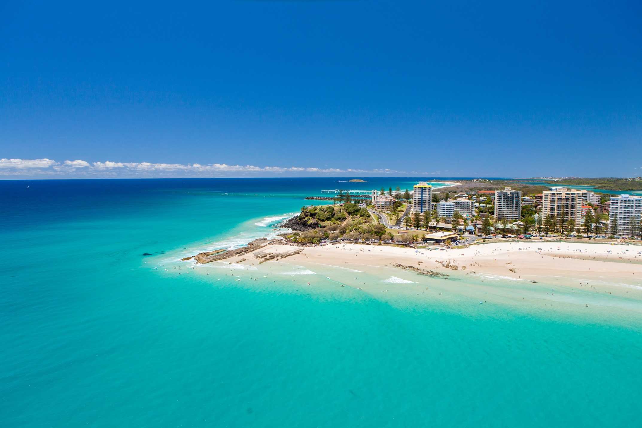 Locations such as Coolangatta on the Gold Coast possess incredible natural amenity, although this is offset somewhat by higher density construction and a higher crime rate than the QLD average.