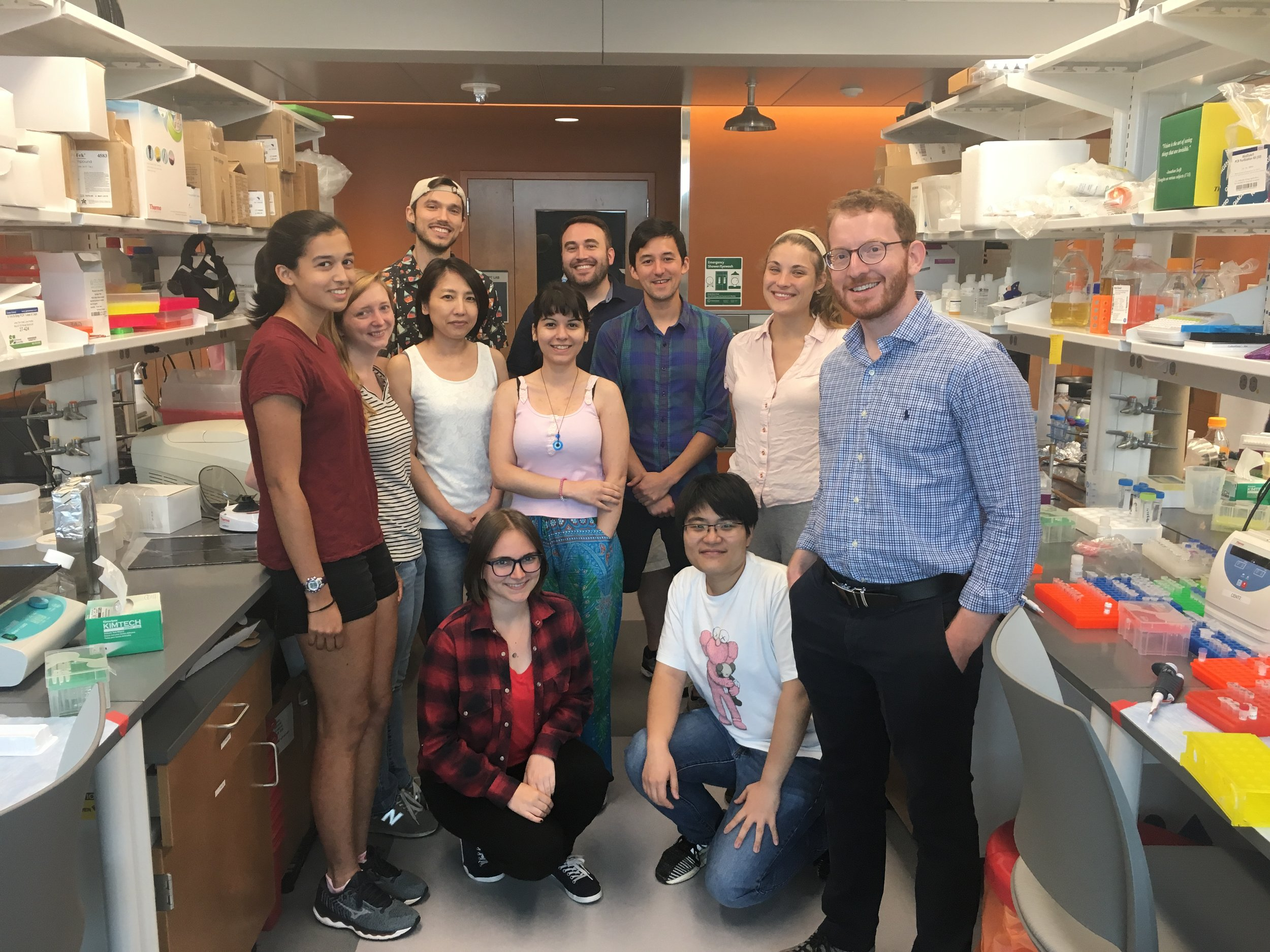 Lab photo July 2019