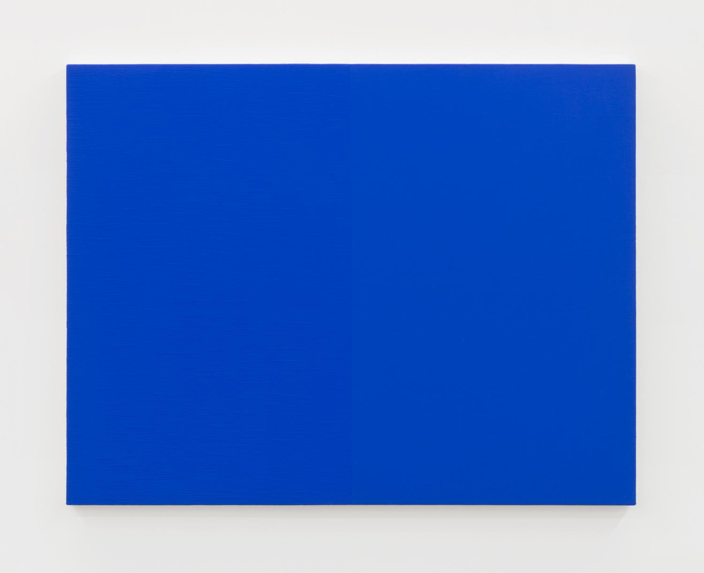 Edith Baumann  Untitled #2,  1979 acrylic on canvas 36 x 46 - 3/4 inches