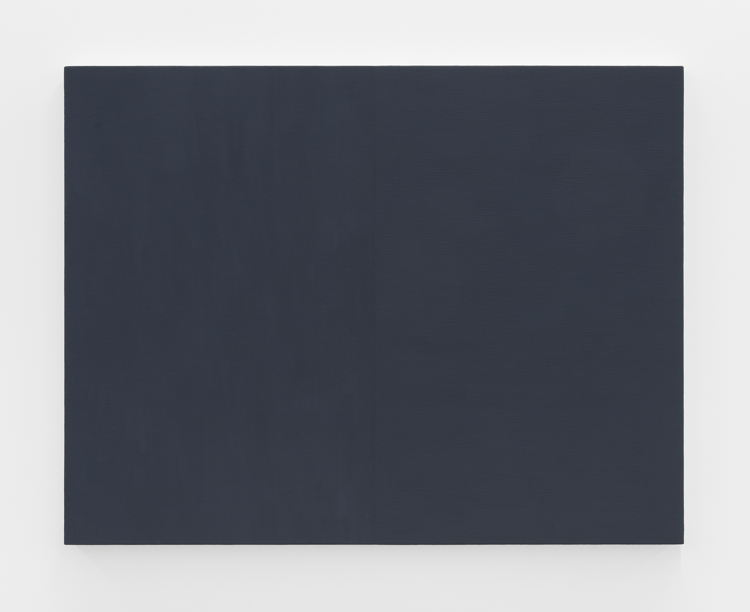Edith Baumann  Untitled #6,  1979 acrylic on canvas 36 x 46 - 3/4 inches