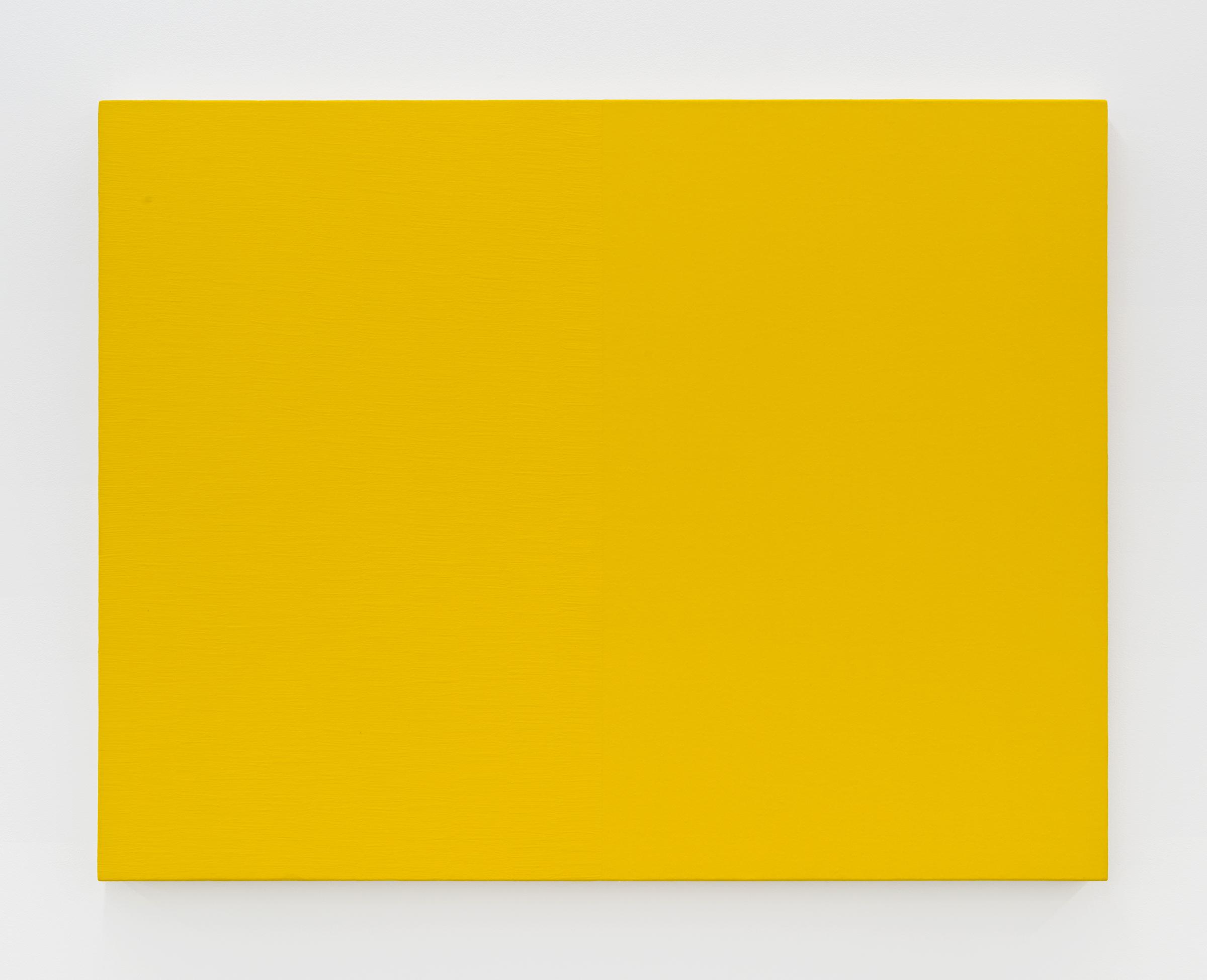 Edith Baumann  Untitled #1,  1979 acrylic on canvas 36 x 46 - 3/4 inches