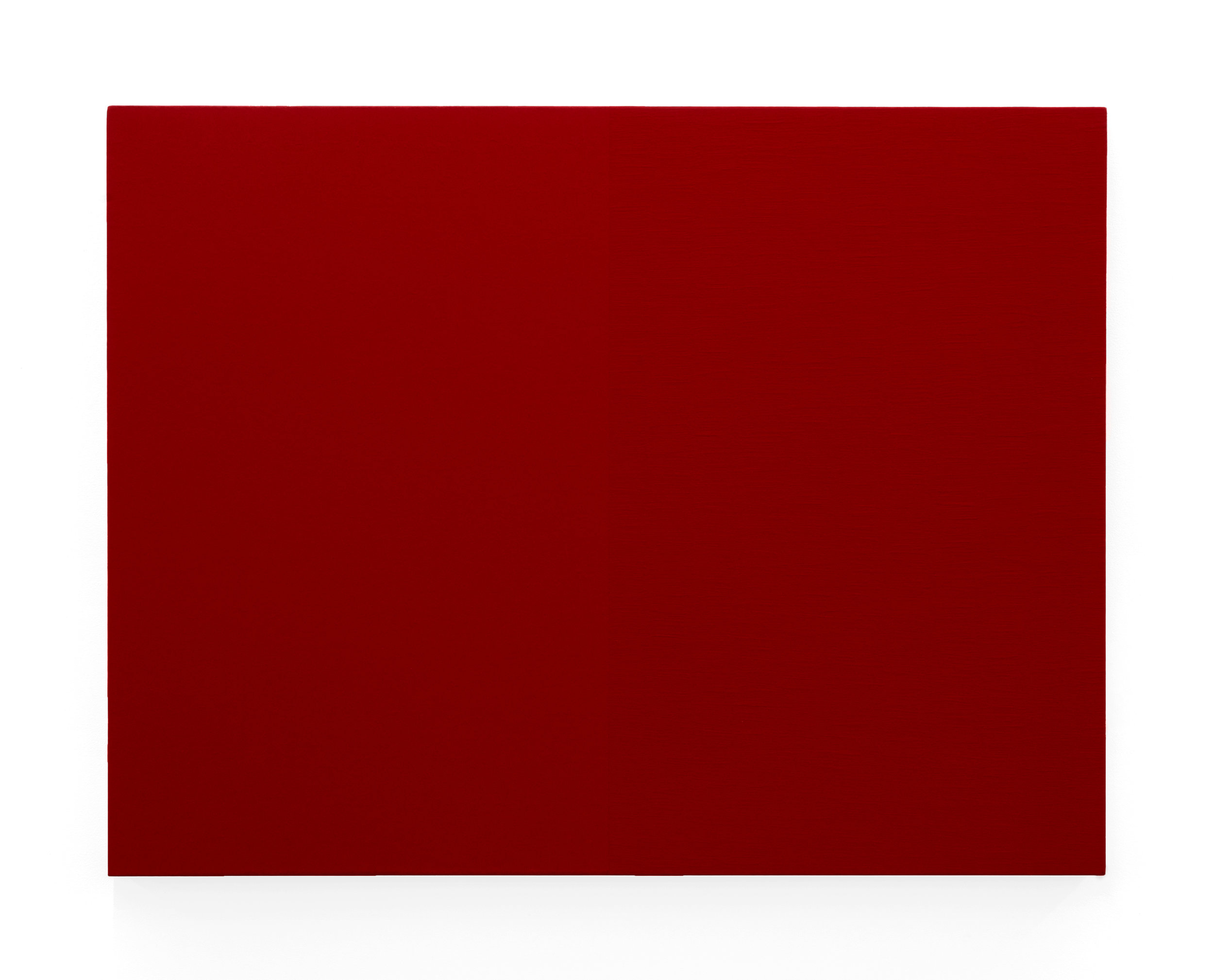 Edith Baumann  Untitled #5,  1979 acrylic on canvas 36 x 46 - 3/4 inches