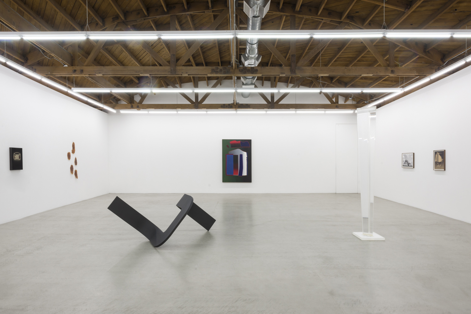 Installation View of Dilexi Totems and Phenomenology