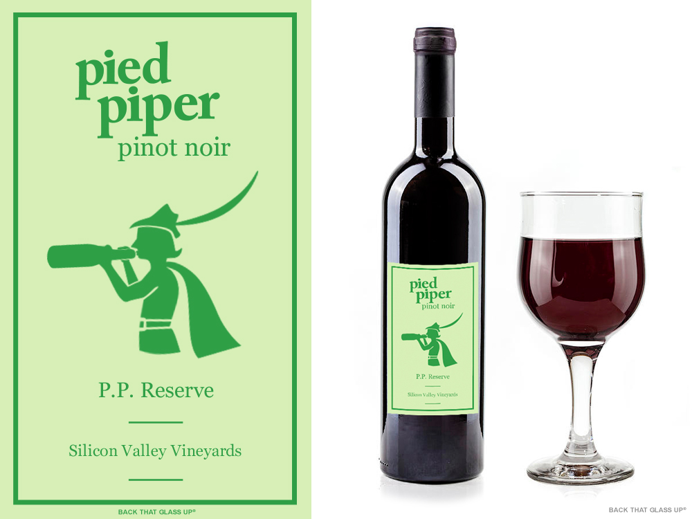 Silicon Valley Pied Piper Pinot Noir