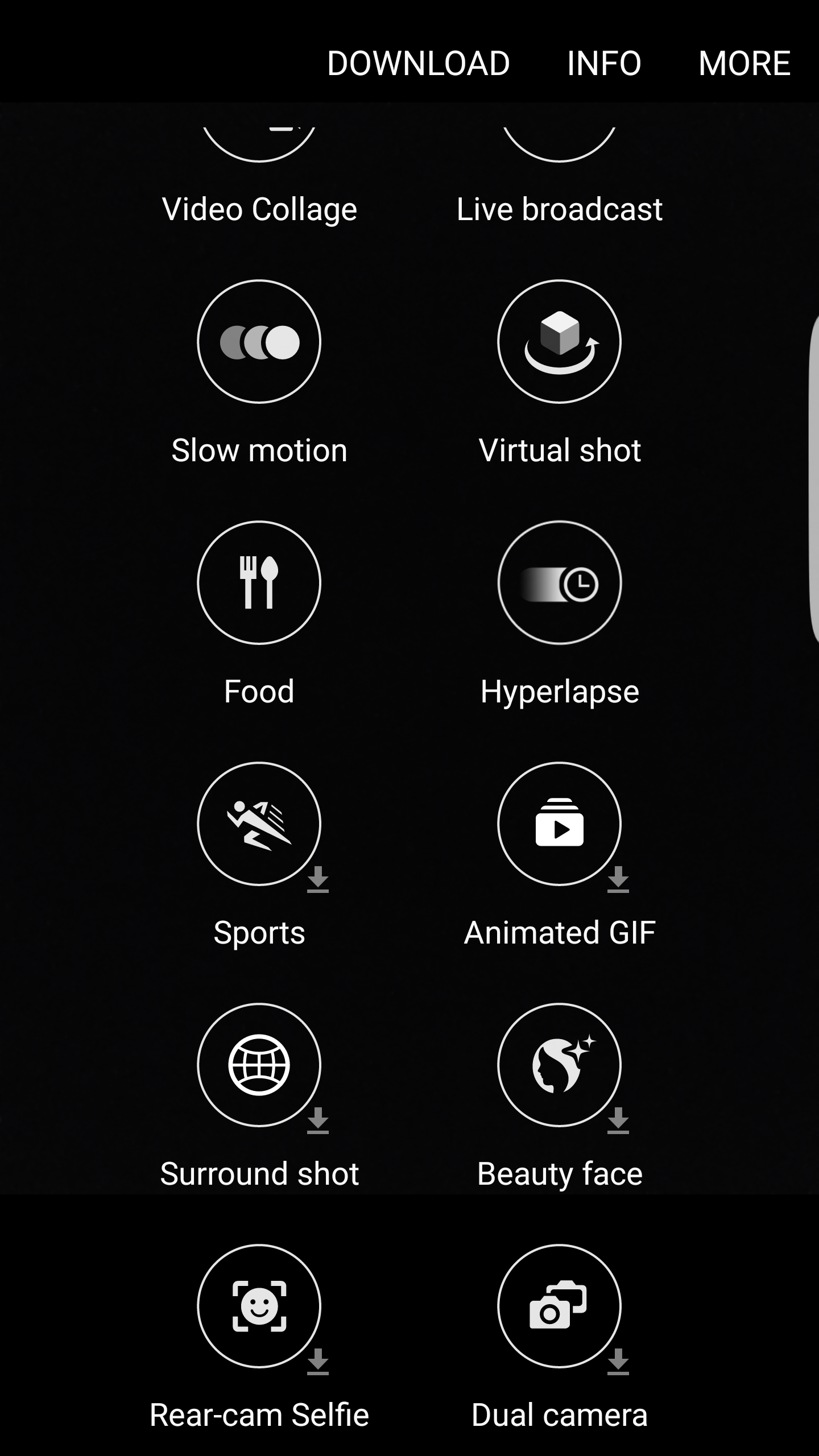 Samsung Camera App - Surround Shot