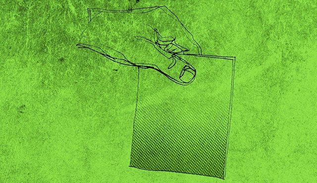 Stem grønt ♻️💚 God valgdag fra baggården!  #stemgrønt #valg2019 #huskatstemme #klimavalg