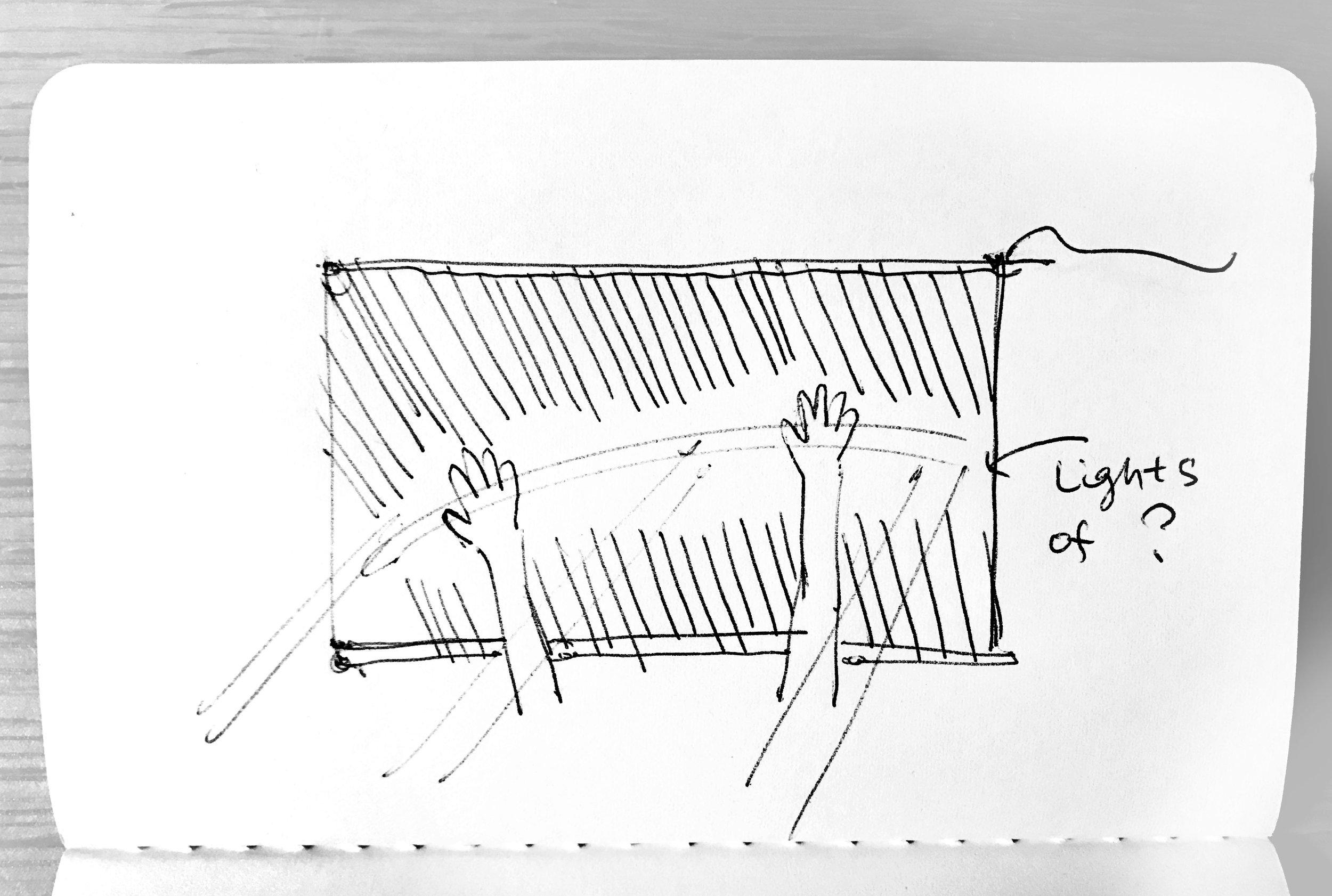 Sketch by Honghao Deng