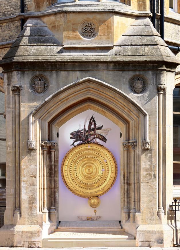 The Corpus Chronopage on Kings Parade, Cambridge.