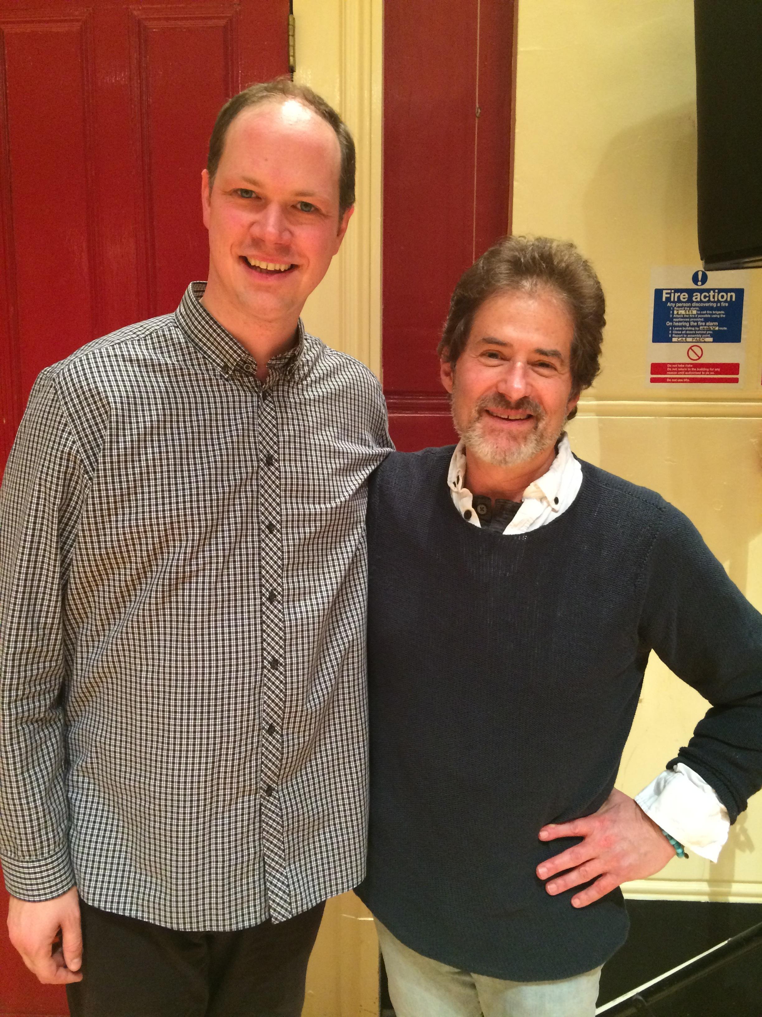 with composer James Horner