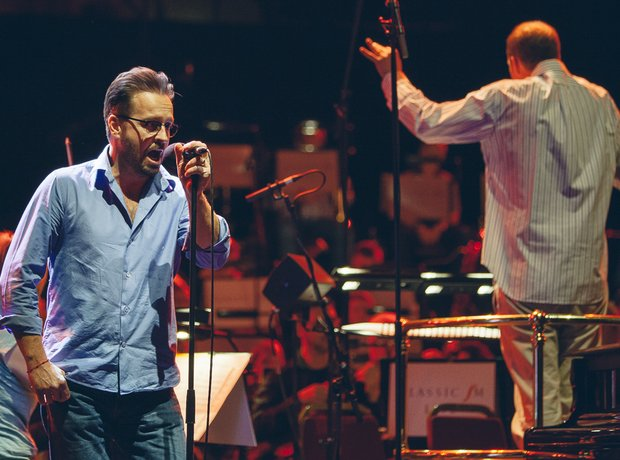 with Alfie Boe at the Royal Albert Hall