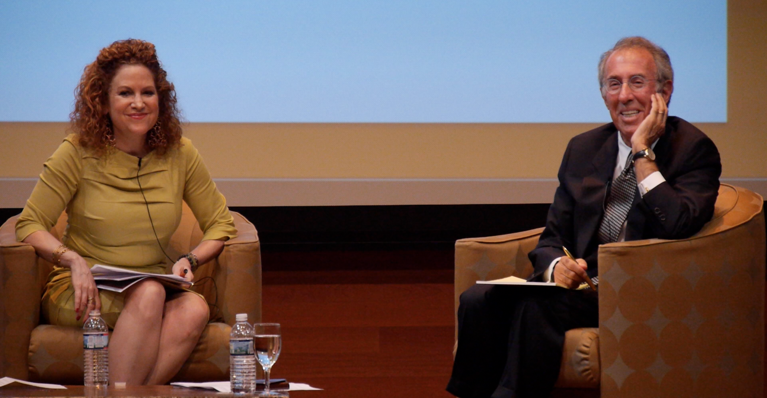 """Randy A. Hustvedt interviews Ron Baron at the Wealth & Giving Forum's 2014 """"Seeking Impact Within"""" Smposium"""