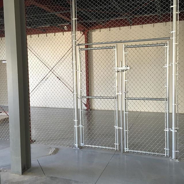 Commercial interior chain link