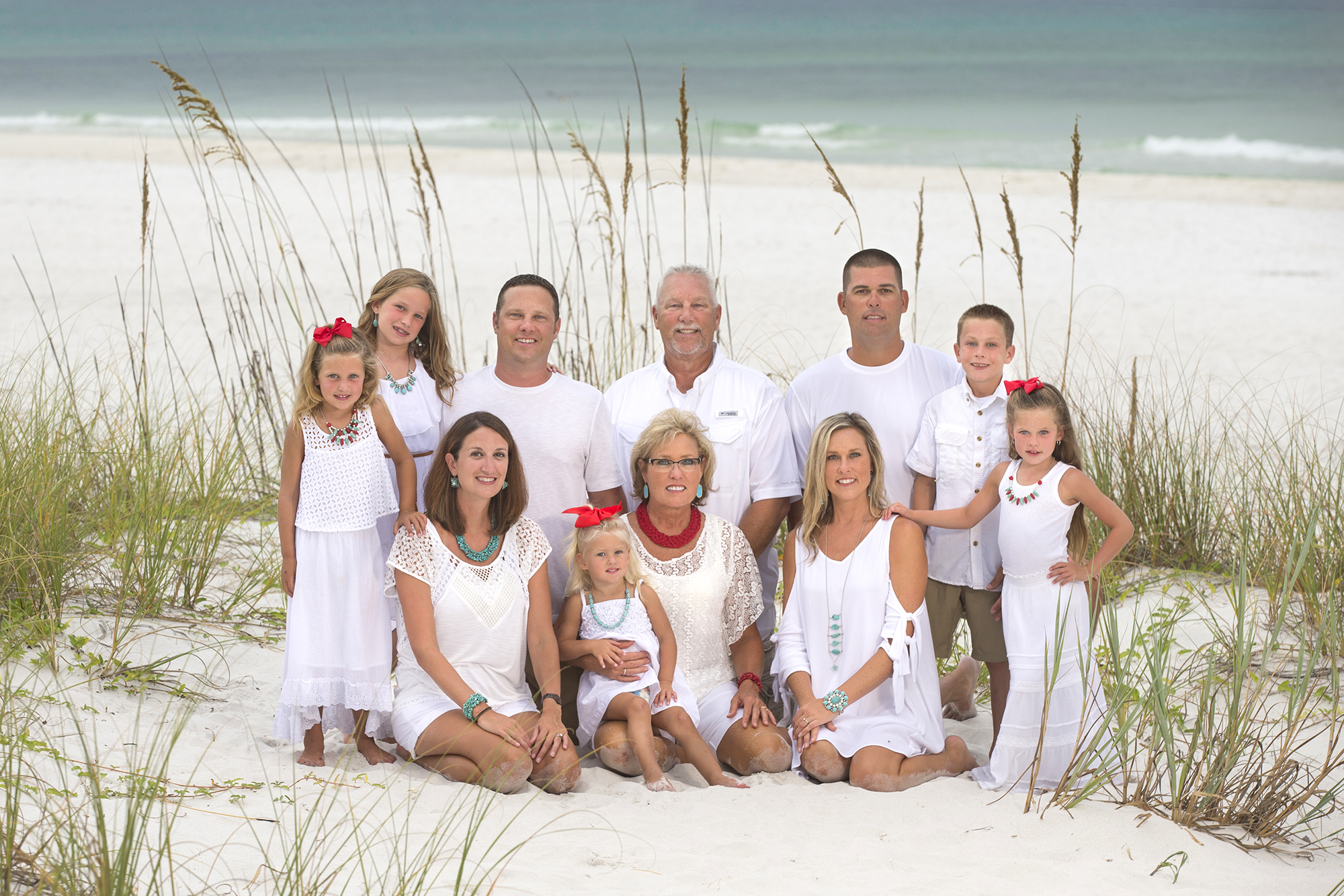 Family Beach Portrait Photo Destin, Florida