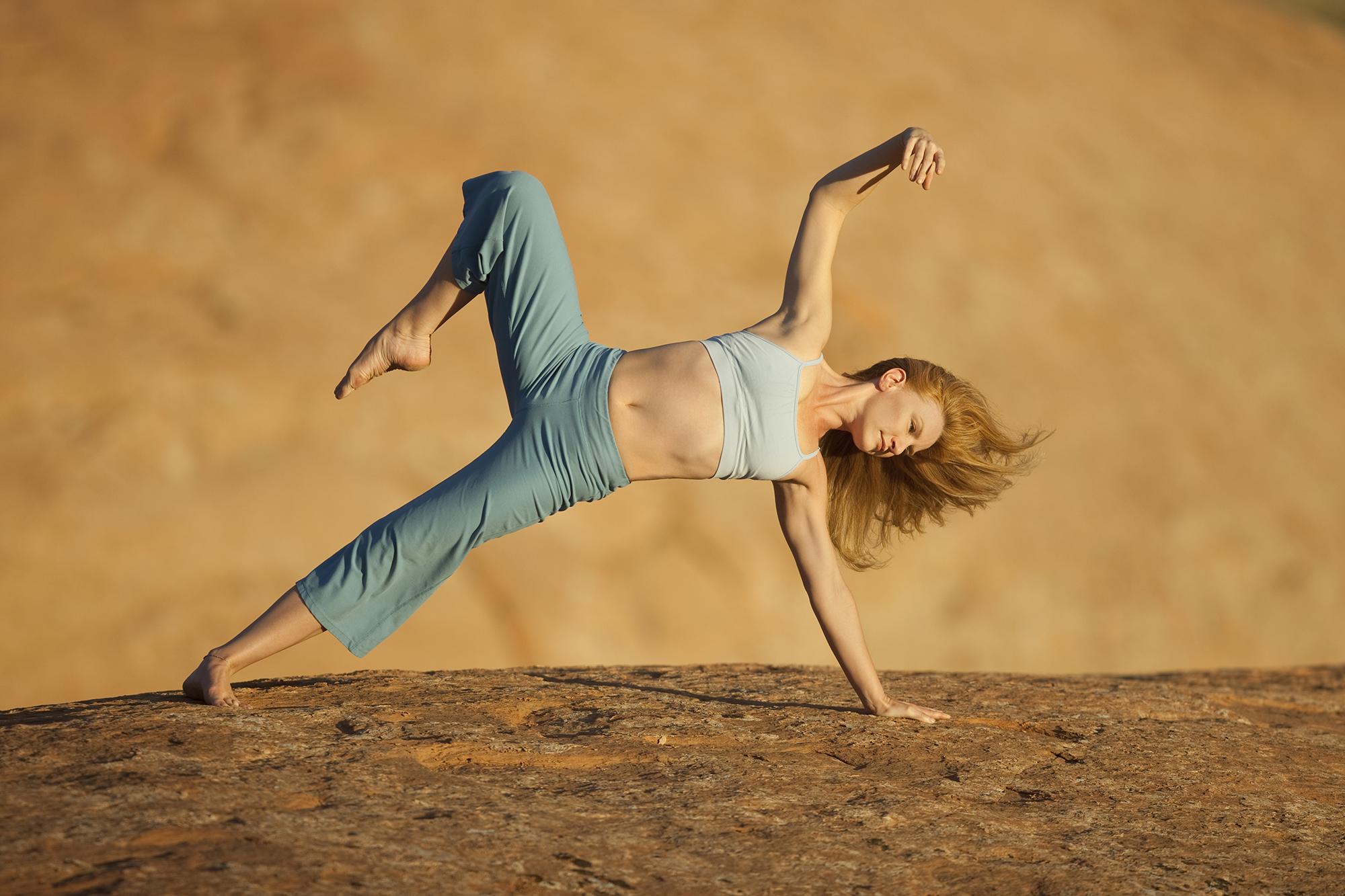 Yoga Instructor Environmental Portrait