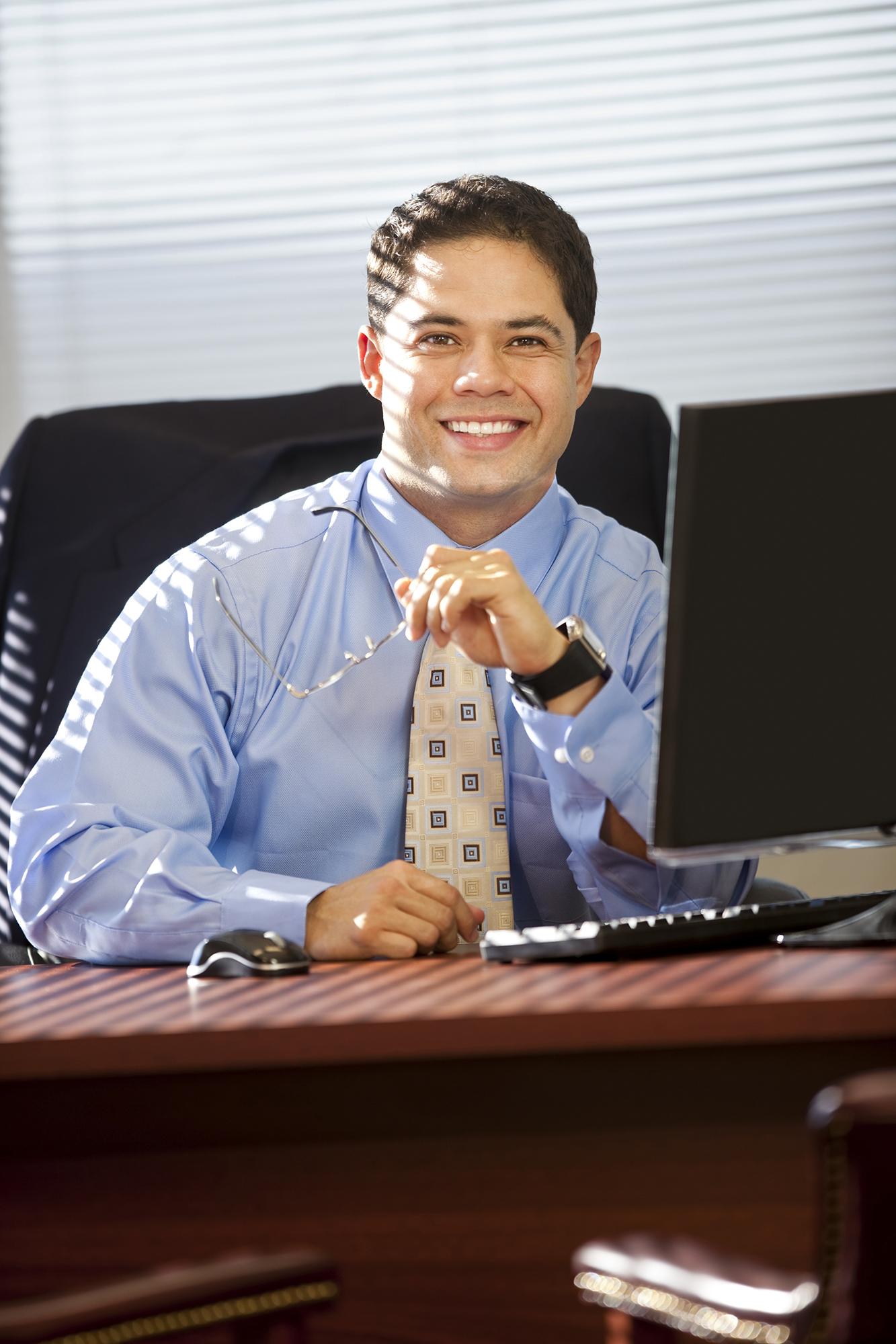 Environmental Portrait of executive