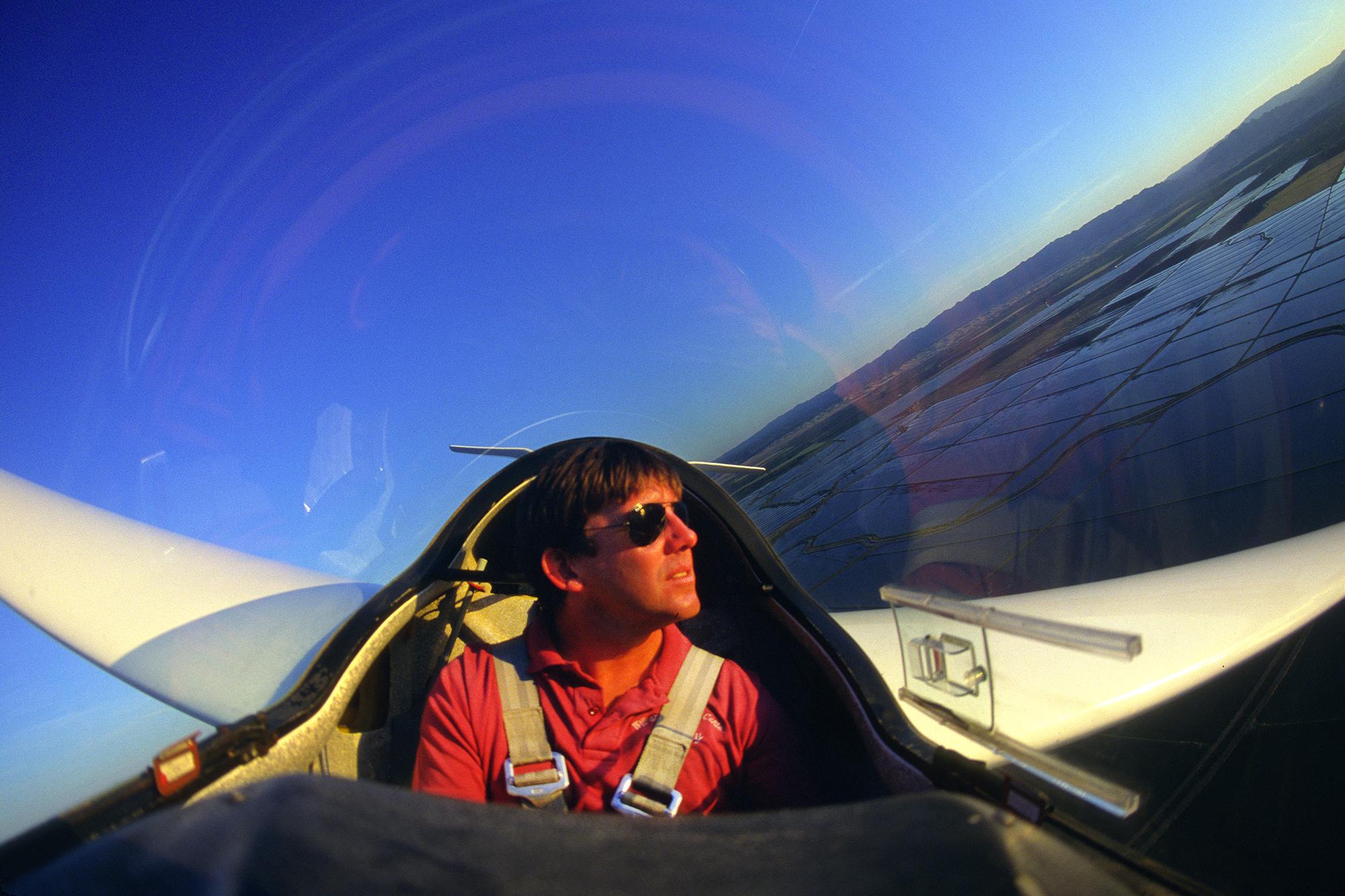 Environmental Portrait of a pilot