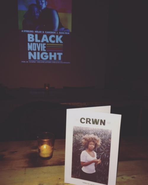 Black Movie Night starring Sheria Irving + Akintola Jiboyew