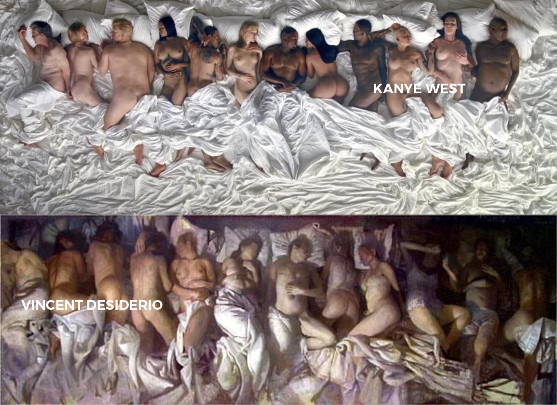 kanye west/  youtube  +  vincent desiderio