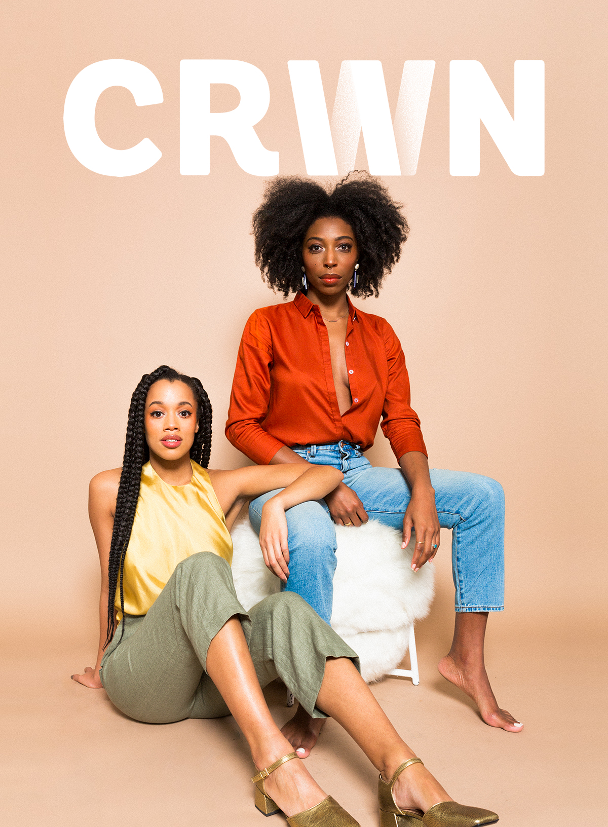 The Cover of the Love Issue, featuring Lauren Ash (Left) and Deun Ivory (Right)