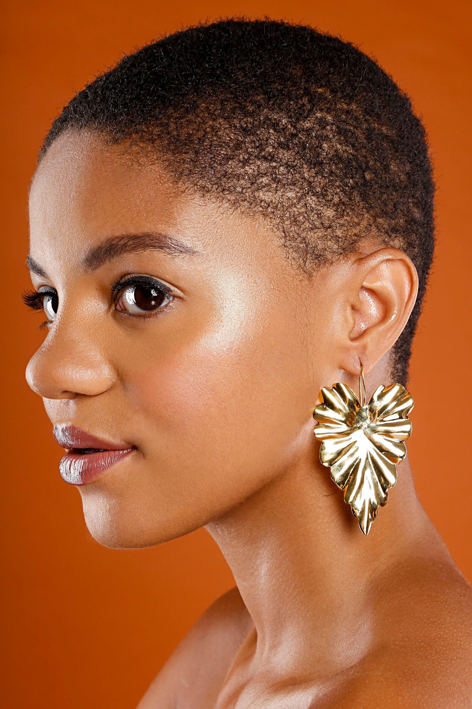 """""""Hoja"""" Earrings"""