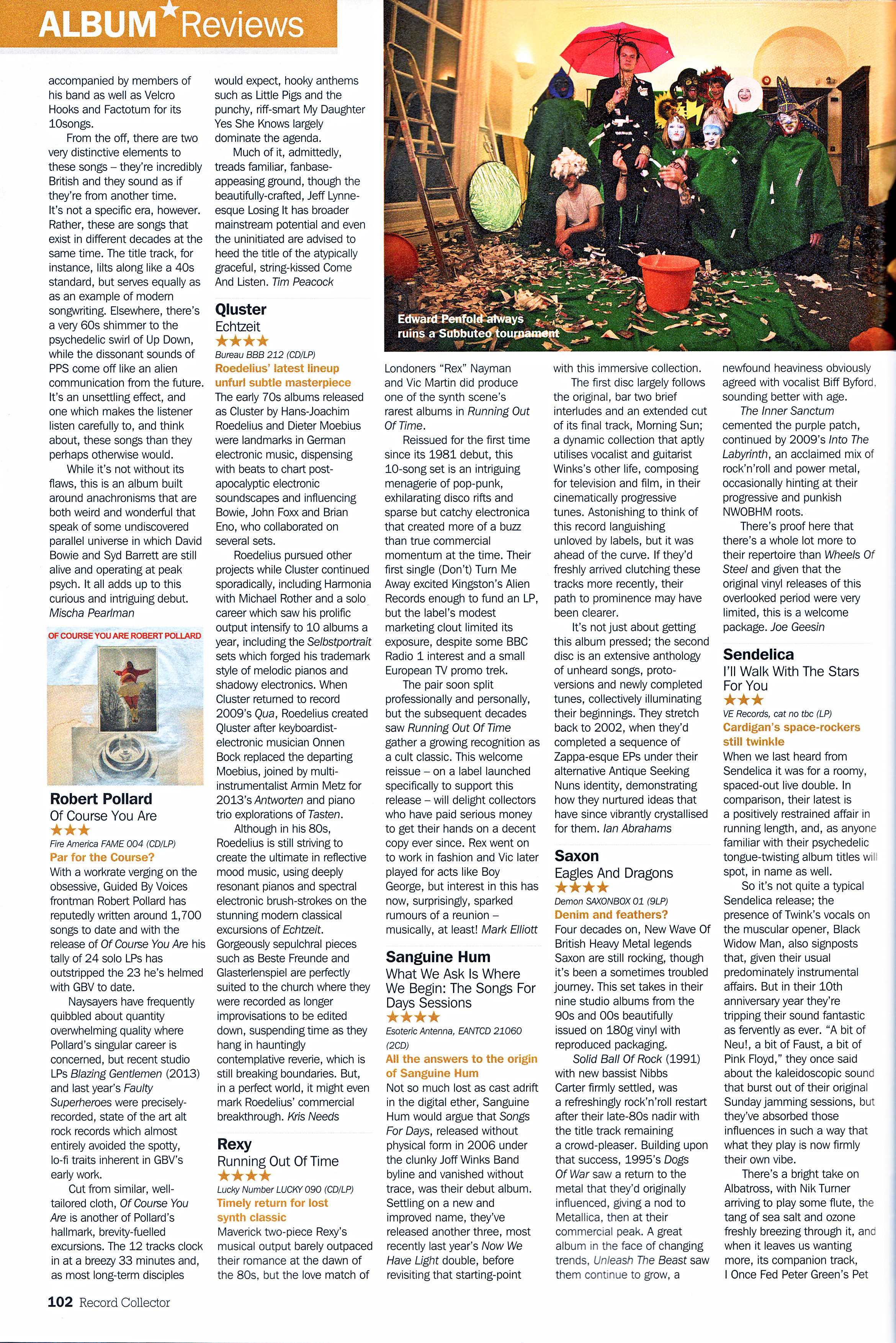 Sanguine Hum | What We Ask Is Where We Begin - Ian Abrahams, Record Collector April 2016