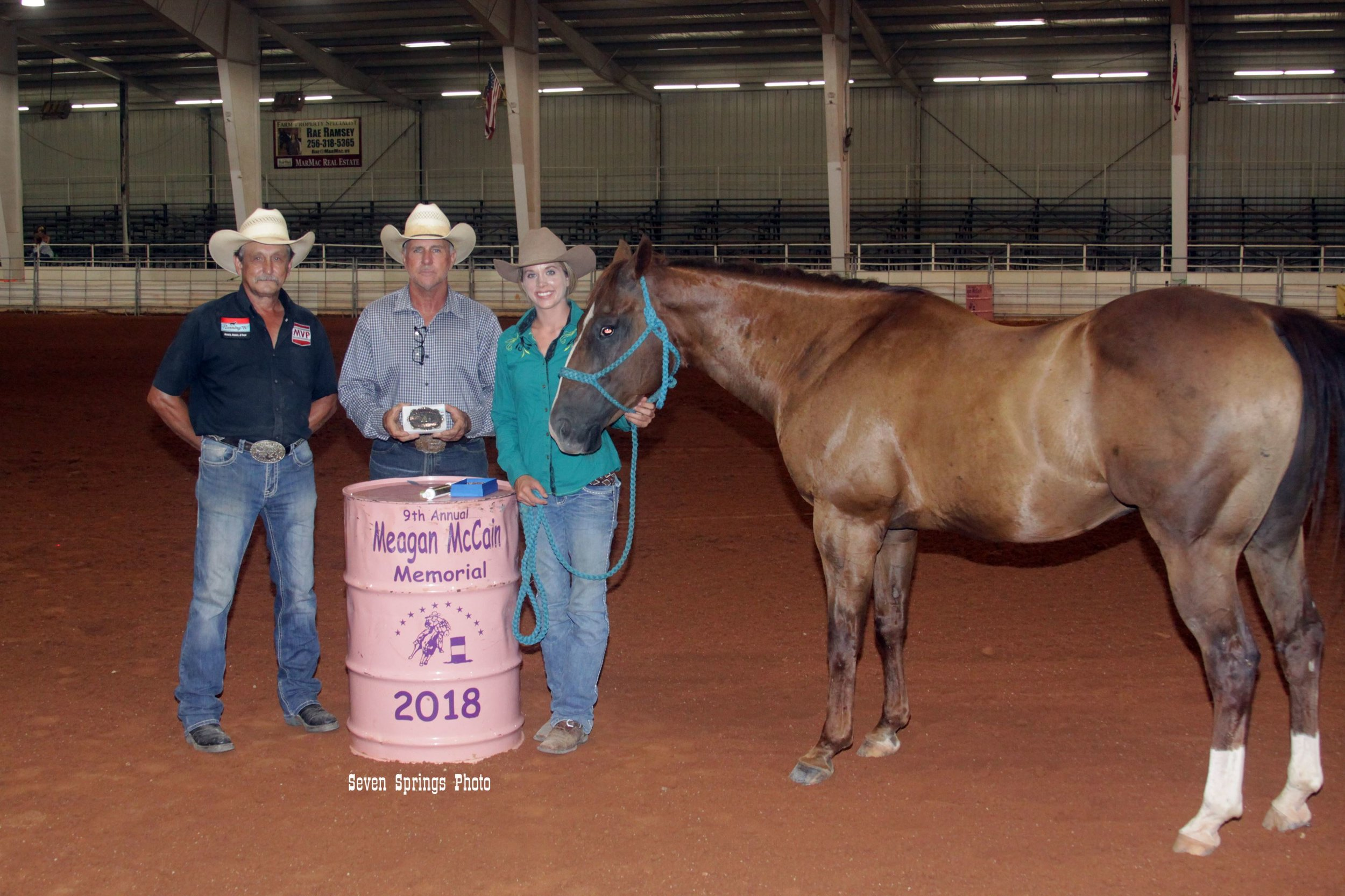 Fast Time award presented to Alexandria Skipworth in memory of Tracy Marlin