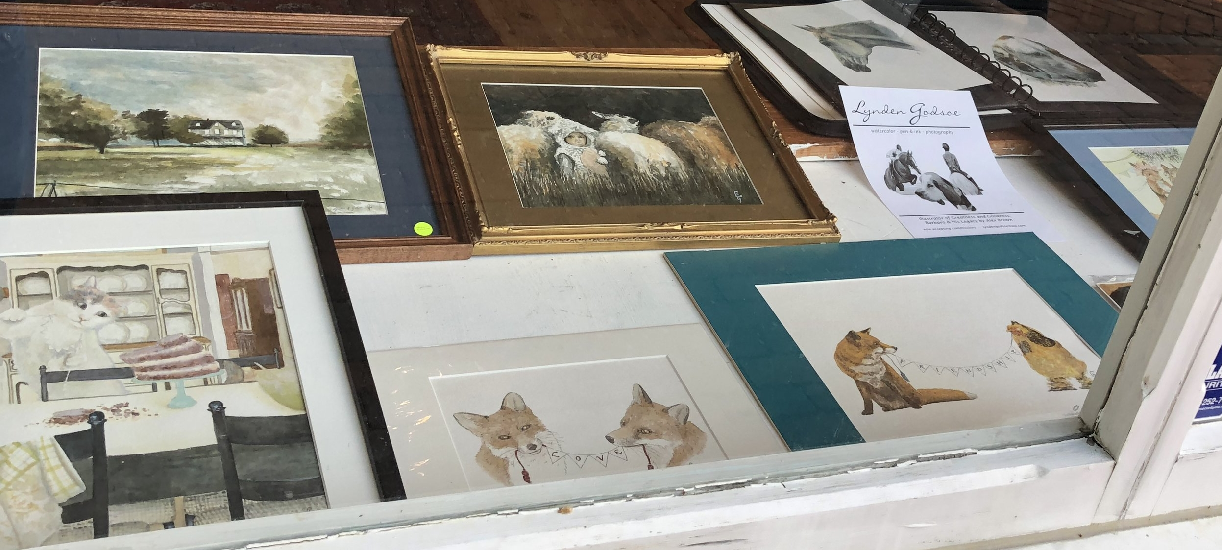 oRIGINAL WATERCOLORS BY CHESTERTOWN ARTIST LYNDEN GODSOE. EQUINE AND DOMESTIC PET PORTRAITS OF THE HIGHEST CALIBER AVAILABLE ON COMMISSION.