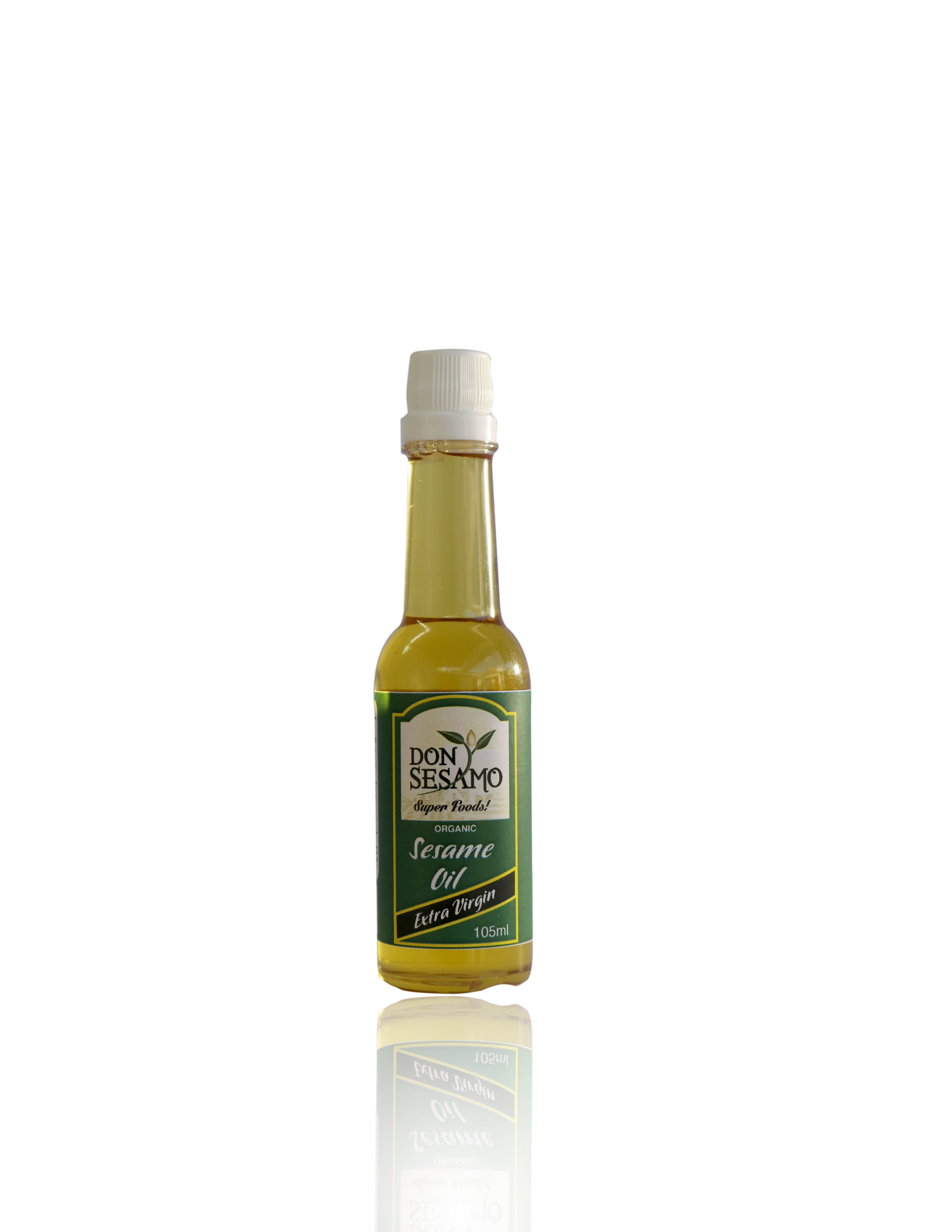 SESAME OIL EXTRA VIRGIN 105 ML (3.55 fl. OZ.)