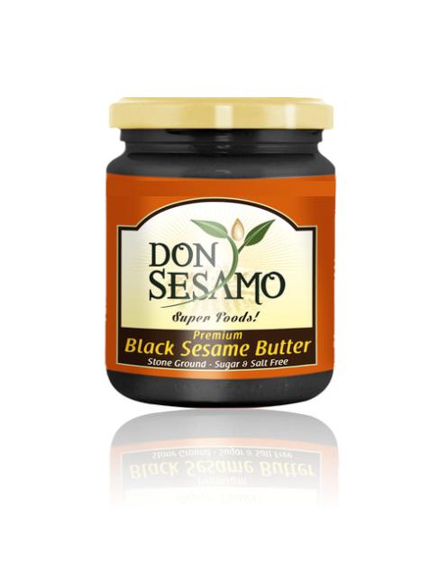 BLACK SESAME BUTTER 200g (7,05 oz)