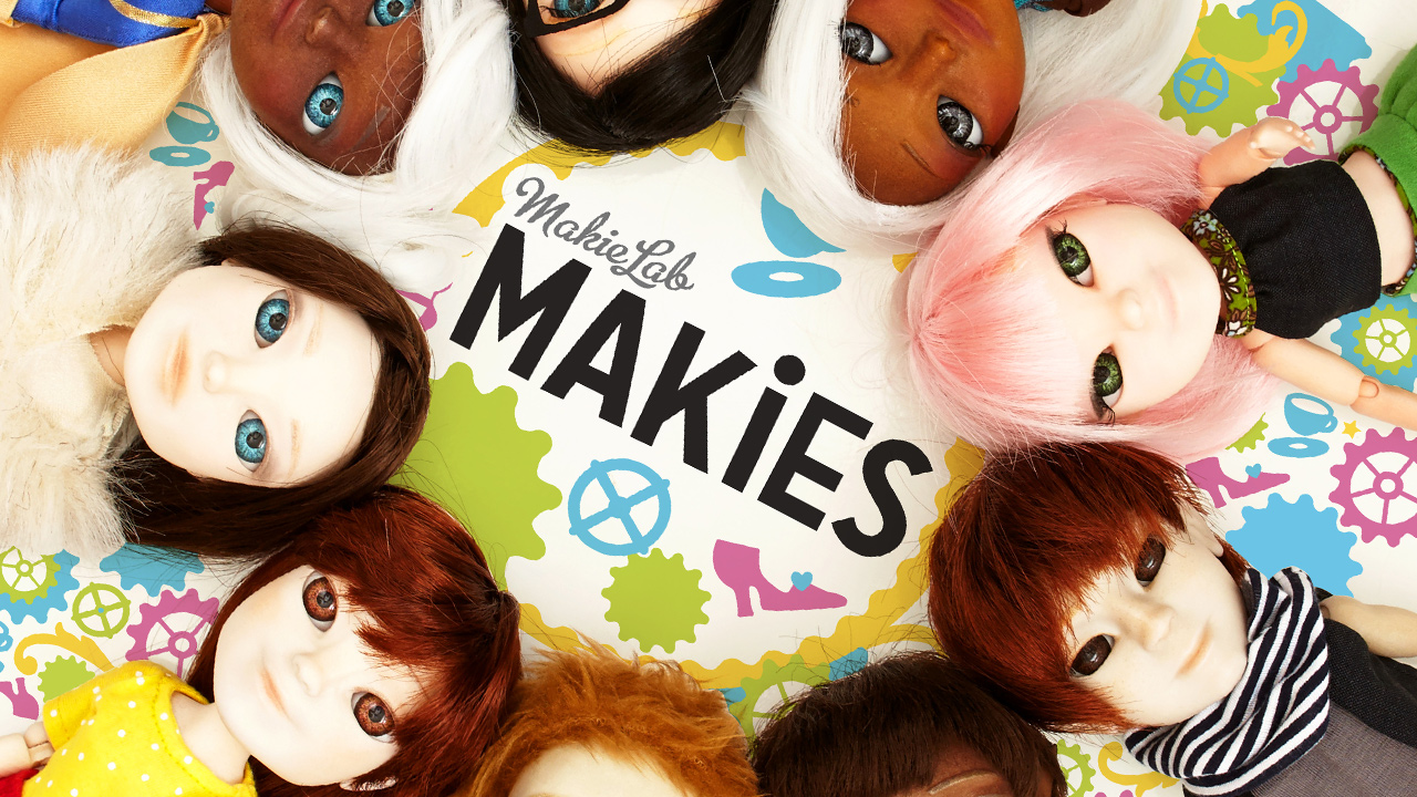 Makies front cover