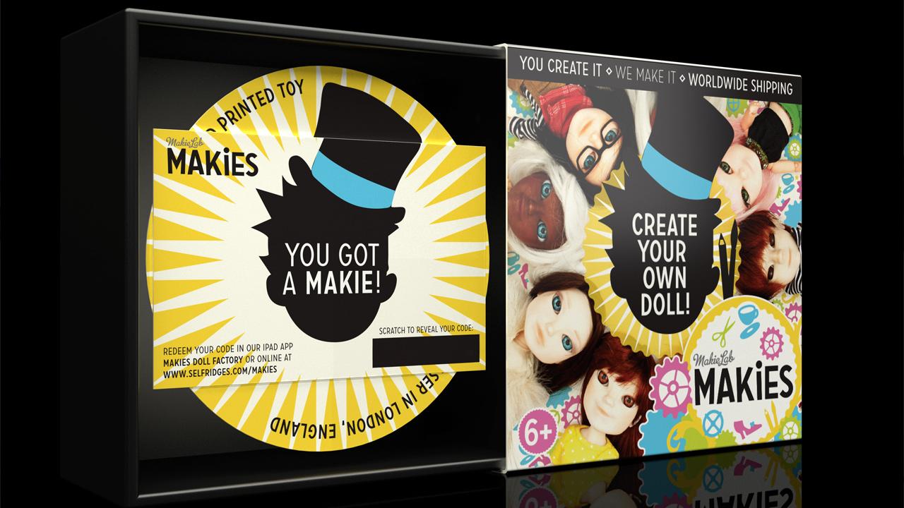 Open Makies Packaging