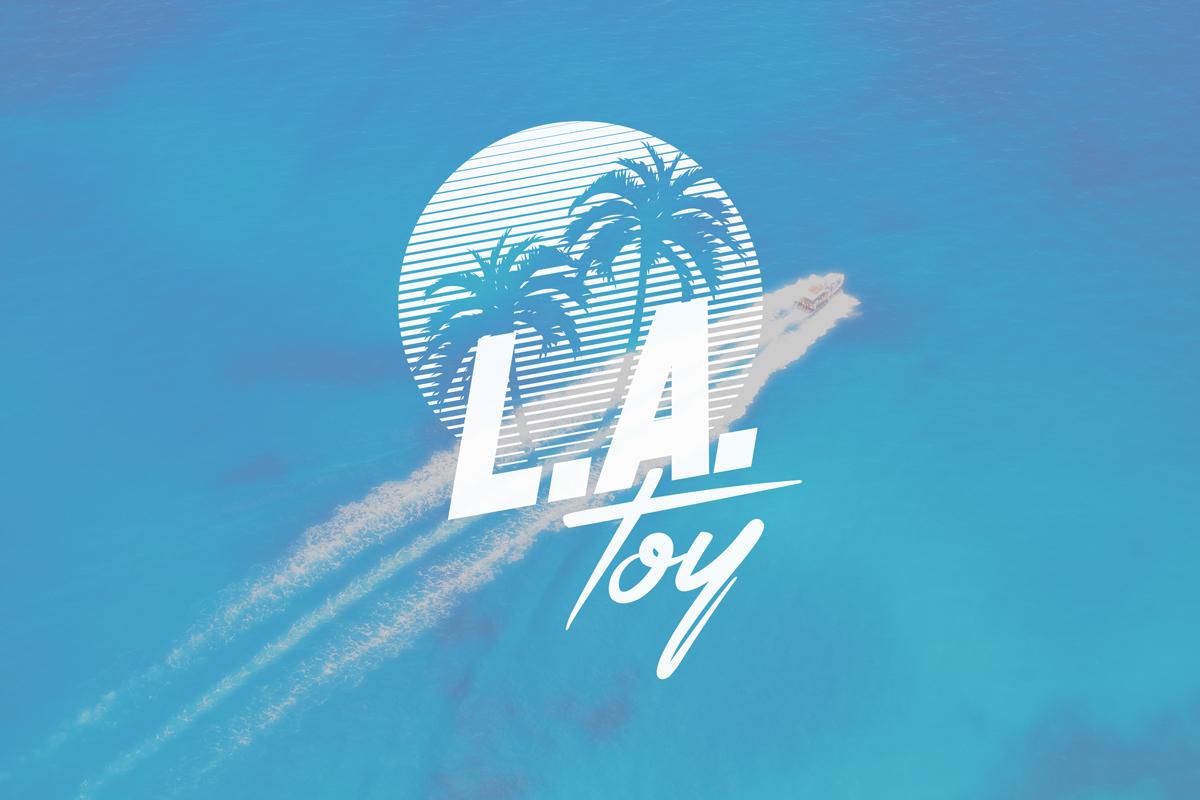 L.A. Toy Logo visual