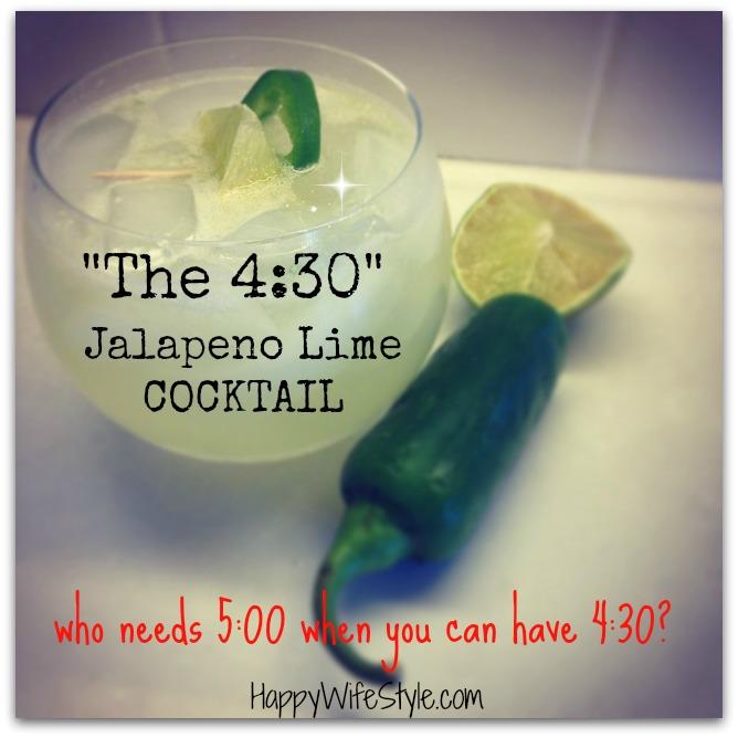 Jalapeño-lime-cocktail