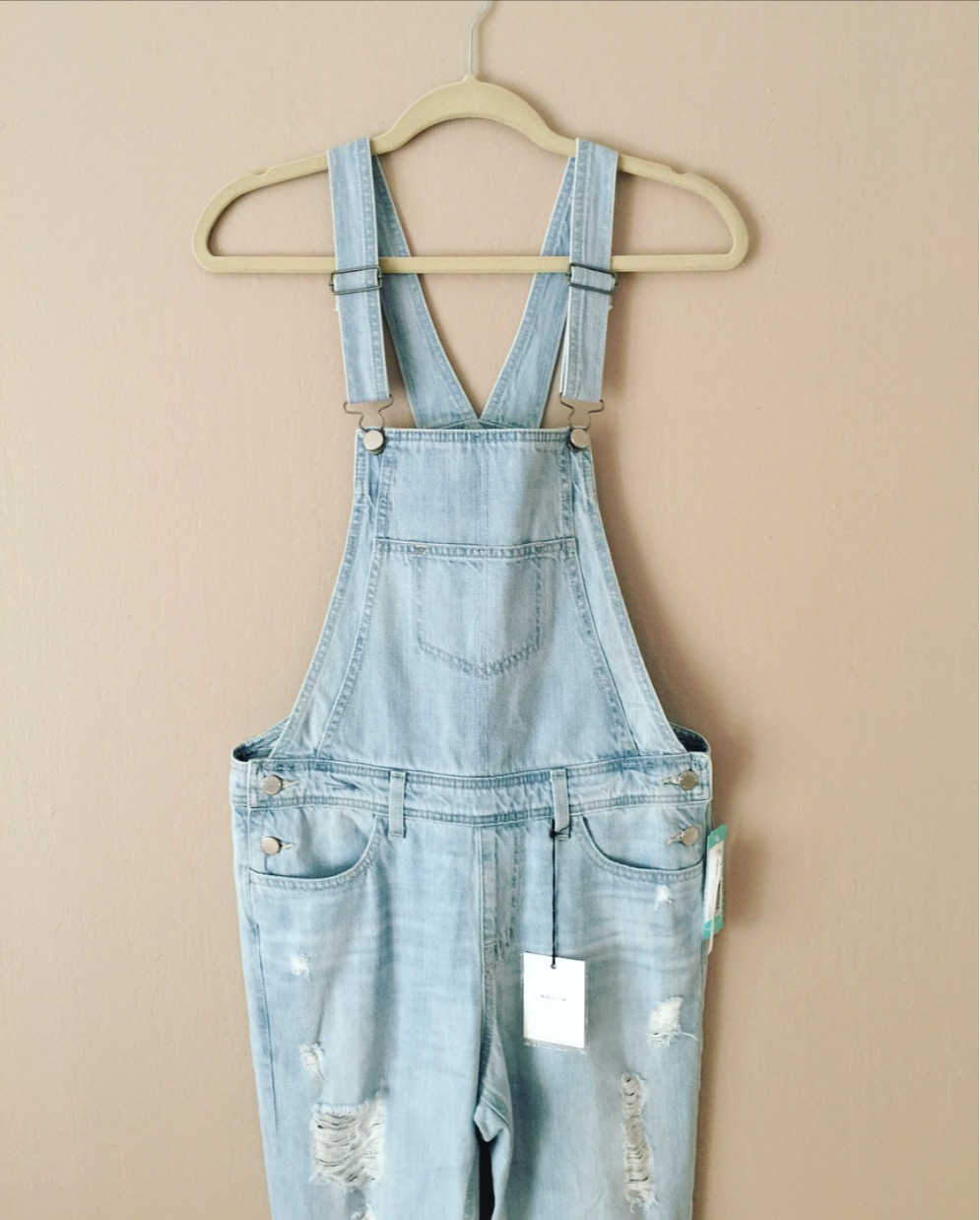 Big Star - Casi Distressed Overall from Stitch Fix - $138