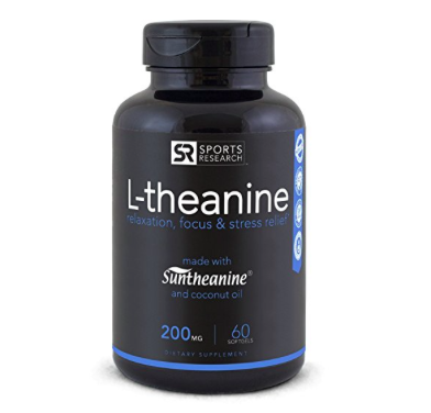 L-theanine (Natural Anxiety Relief)