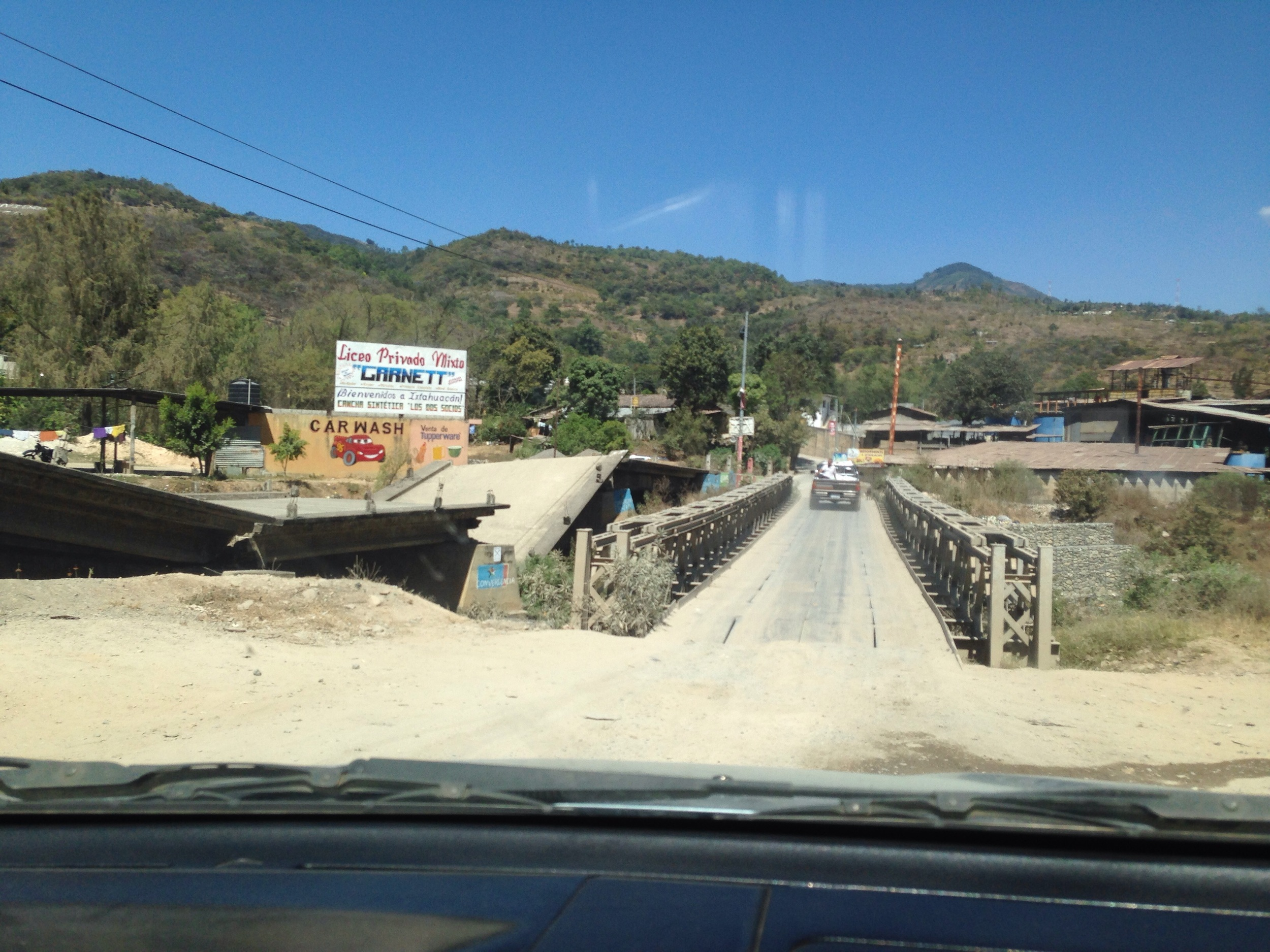 New bridge from highway since 12 years.